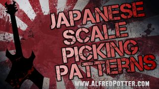 Japanese Scale Picking Patterns