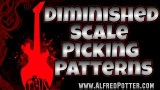 Diminished Scale Picking Patterns