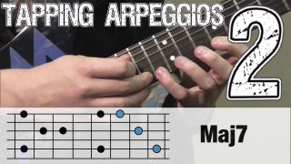 Tapping Arpeggios Lesson #2